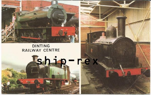 Dinting Railway Centre - postcard